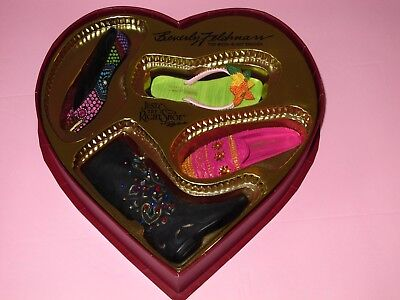 Beverly Feldman Collectible Shoe Set - 2001 Too Much Is Not Enough - NIB