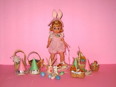 Madame Alexander - A Child at Heart Easter Bunny Doll w/ Box & Accessories