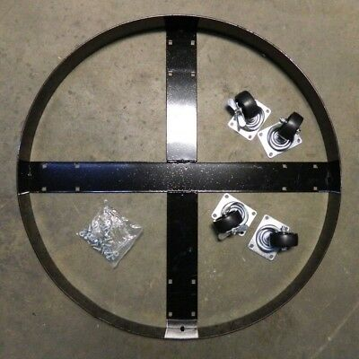 """Eagle 1,000 Lb Capacity Drum Dolly 31"""" Diam For 10 Gal Drums 1618"""