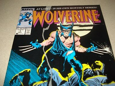 Wolverine 1 Newstand edition NEAR MINT FLAWLESS