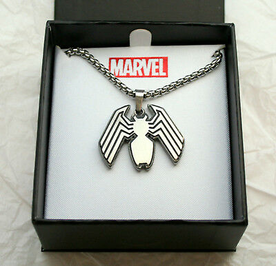 Marvel Comics Spider-Man's Venom Necklace Pendant New NOS Box