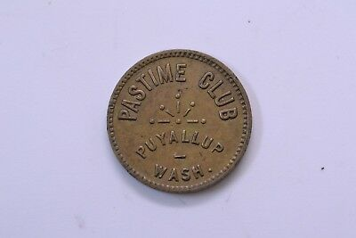 Puyallup Washington Pastime Club - Good For 5¢ In Trade - Token