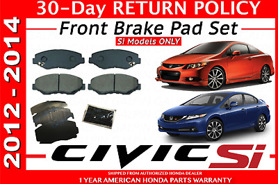 Genuine Honda Civic Front Pad Set OEM 45022T2FA01