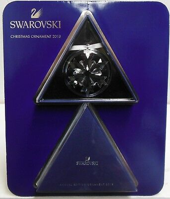 Swarovski Annual Edition 2018 Crystal Snowflake Christmas Ornament