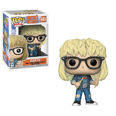 Funko Pop Movies: Wayne's World - Garth Collectible Figure, Multicolor