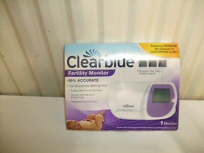 Clear Blue Fertility Monitor Used Very easy to use No test sticks with it.