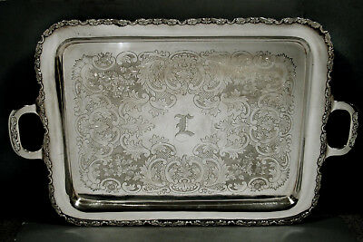 Japanese Sterling Tea Set Tray   c1940 950 PURE - IN CASE - 144 OZ.