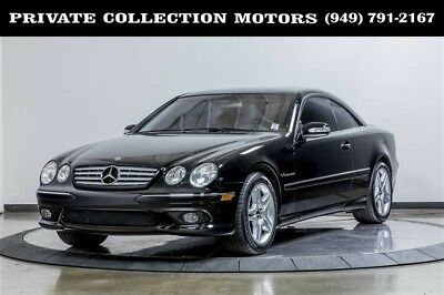 2003 Mercedes-Benz CL-Class  2003 Mercedes-Benz CL55 AMG 5.5L AMG Clean Carfax Low Miles