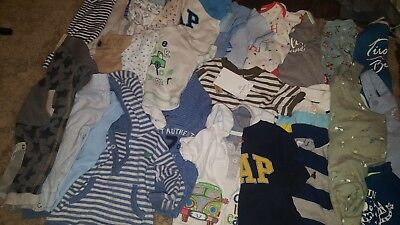 Large bundle of baby boys clothes 3-6 mnths
