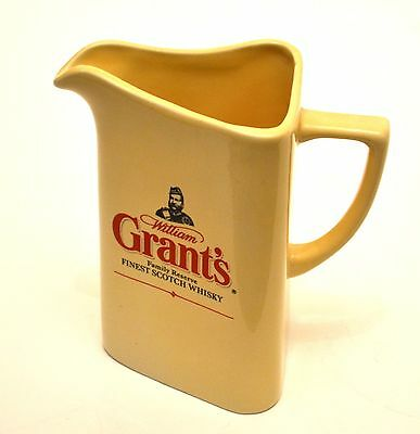 VINTAGE WILLIAM GRANT'S FAMILY RESERVE FINEST SCOTCH WHISKY Water Jug Breweriana