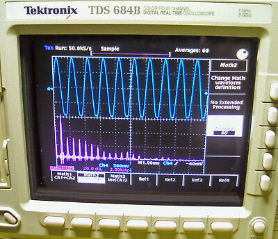 Tektronix TDS684B  1 GHz, 5 GS/s,  4-Ch Color Digital Real-Time Oscilloscope