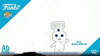 Funko Shop Pop Ad Icons Pillsbury Doughboy Exclusive Preorder