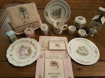 Massive Bundle Of Beatrix Potter Collectable Items
