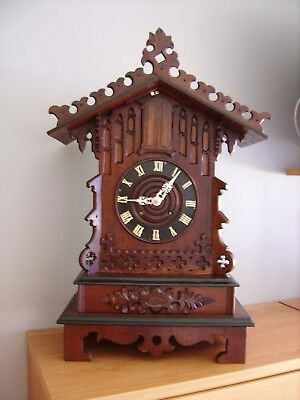 Rare Black Forest Trumpeter Clock