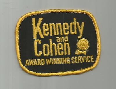 1960's VINTAGE KENNEDY AND COHEN APPLIANCE STORE EMPLOYEES  PATCH HOUSTON TX