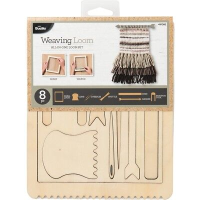 """Bucilla All-in-one Loom Tool Kit - Rectangle-7""""x6"""""""