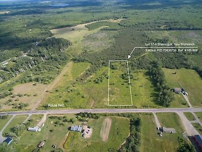 3 acres for Sale near Coastline in SouthEast New Brunswick