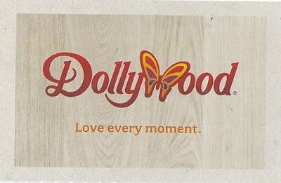 Tickets To Dollywood In Pigeon Forge, Tn Good Until 1/5/19