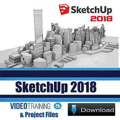 SketchUp 2018 Video Training Tutorial 5 Courses Pack DOWNLOAD