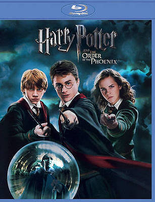 Harry Potter and the Order of the Phoenix (Blu-ray Disc, 2011, With Deathly Hall