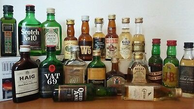 Mignon Miniature Collezione 20 Scotch Whisky Total Full Blended Collection  Old
