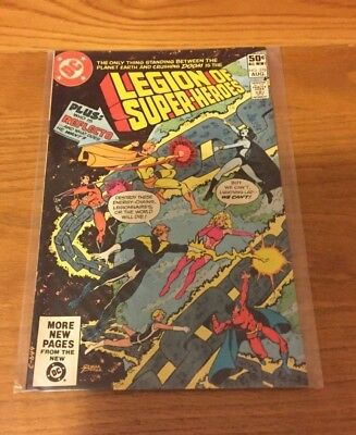 The Legion Of Super Heroes 278. Vfn+ Cond. Aug 1981. Dc.