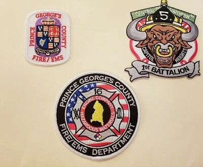 Prince George's County Fire Department Patches