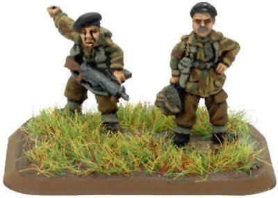 Battlefron FoW WWII UK 15m Lieutenant Colonel Frost and Para Commande Pack MINT