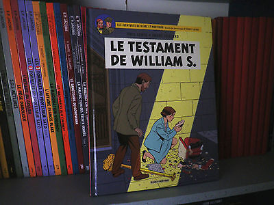 Blake et Mortimer - Le Testament de William S. - Ex. signé - Sente/Juillard - BD