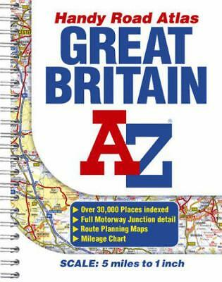 Great Britain Handy Road Atlas by Great Britain, Good Book (Spiral-bound) Fast &