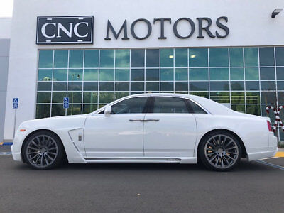 2013 Rolls-Royce Ghost 4dr Sedan 2013 Rolls Royce Ghost Sedan Full WALD Body Package CNC Motors Upland California