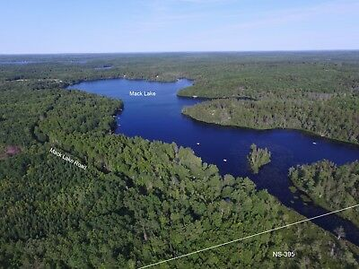 82 Acre WATERFRONT Recreation Property on Mack Lake, Nova Scotia - Canada
