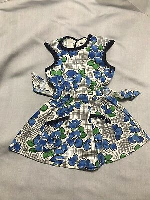 Vintage 1940s-1950s Tagged Princess Peggy Doll-Size Dress in Mint Condition
