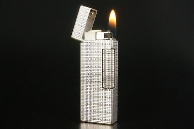 Dunhill Rollagas Lighter Refurbished NewOrings Working Over hauled Vintage #824