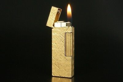 Dunhill Rollagas Lighter Refurbished NewOrings Working Over hauled Vintage #825