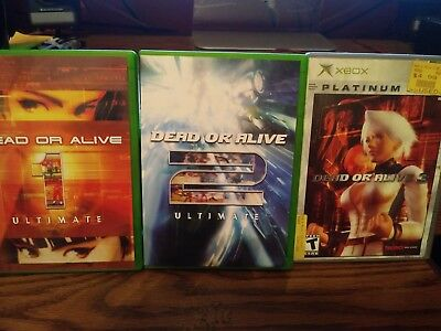 Dead or Alive Ultimate 1 and 2 + Dear or Alive 3 Microsoft Xbox