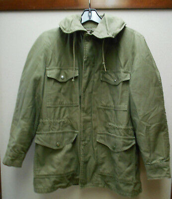 9640e4756 VTG USAF FIELD Jacket OG-107 Sateen 1965 Coat men's SMALL John ...