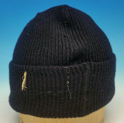 WWII US Navy Issue USN USS Laffey Knit Watch Cap Toboggan Okinawa Invasion USN
