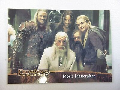 TOPPS Card : LOTR The Return Of The King  #79 MOVIE MASTERPIECE