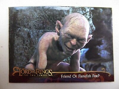 TOPPS Lord of the Rings: The Two Towers - Card #118 FRIEND OR FIENDISH FOE?