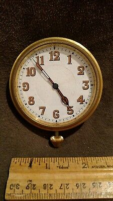 Vintage Car Clock - GENERAL W. CO. SWISS PARADOX 11 JEWELS -  as is condition