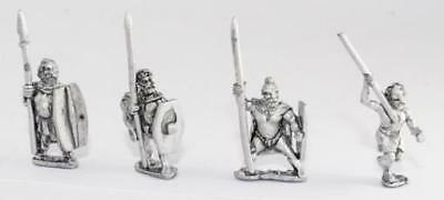Essex Ancient German Mini Medium Infantry w/Long Spear and Shield Pack MINT