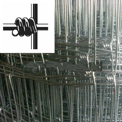 Galvanized Hinge Joint Fence/Dingo Fencing/Dog Fence n Varied Height 50m/roll