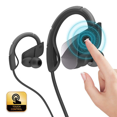 Bluetooth Headphones, Touch Control Wireless Earbuds, Noise Cancelling Sports Ea