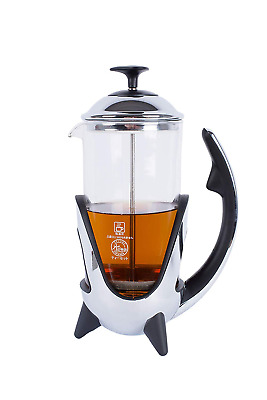 French Press Coffee Maker With Reusable Stainless Steel Filter Best Portable Gla