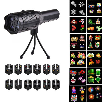Holiday Projector Lights - BlackThunder Portable Decoration LED Night Light for