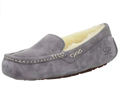 8698085d9a0 UGG WOMEN'S ANSLEY Moccasin Slipper,Light Grey