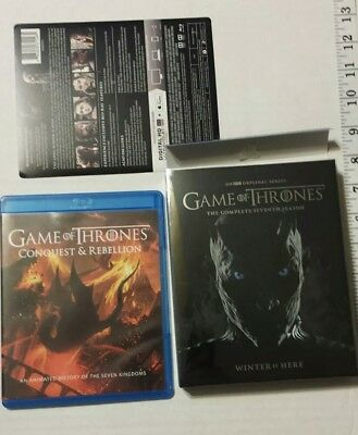 NEW Game of Thrones: Complete 7th Season (Blu-Ray + Digital) w/Exclusive used