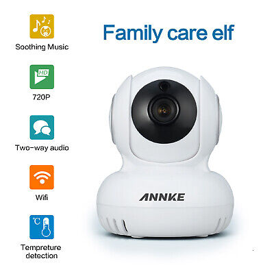 SANNCE 1080P WILAN Security Camera WiFi IP Motion Alarm 2-way Audio Video h.264