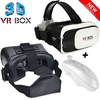 NEW VR BOX Virtual Reality Glasses 3D VR Headset For phone 5/6/7/7+/8 CA SALLER